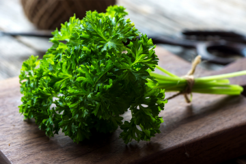 keeping parsley fresh