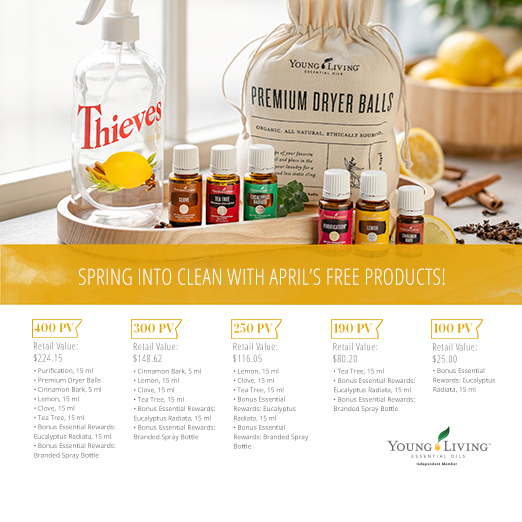 Young Living Monthly Promotion